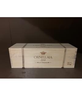 Ornellaia 2018 Magnum con cassa in legno