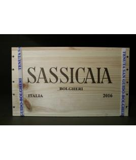 Sassicaia 2016 - 100 Punti Robert Parker - Cassa da 6 bottiglie