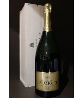 Delamotte Blanc de Blancs 2012 Magnum Con Cassa in Legno